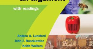 Everything's An Argument 7th edition pdf download