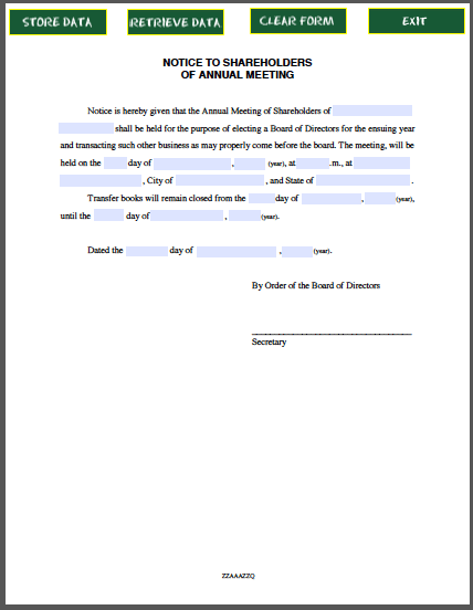 Doc585430 Shareholders Certificate Template Share Certificate – Shareholder Certificate Template