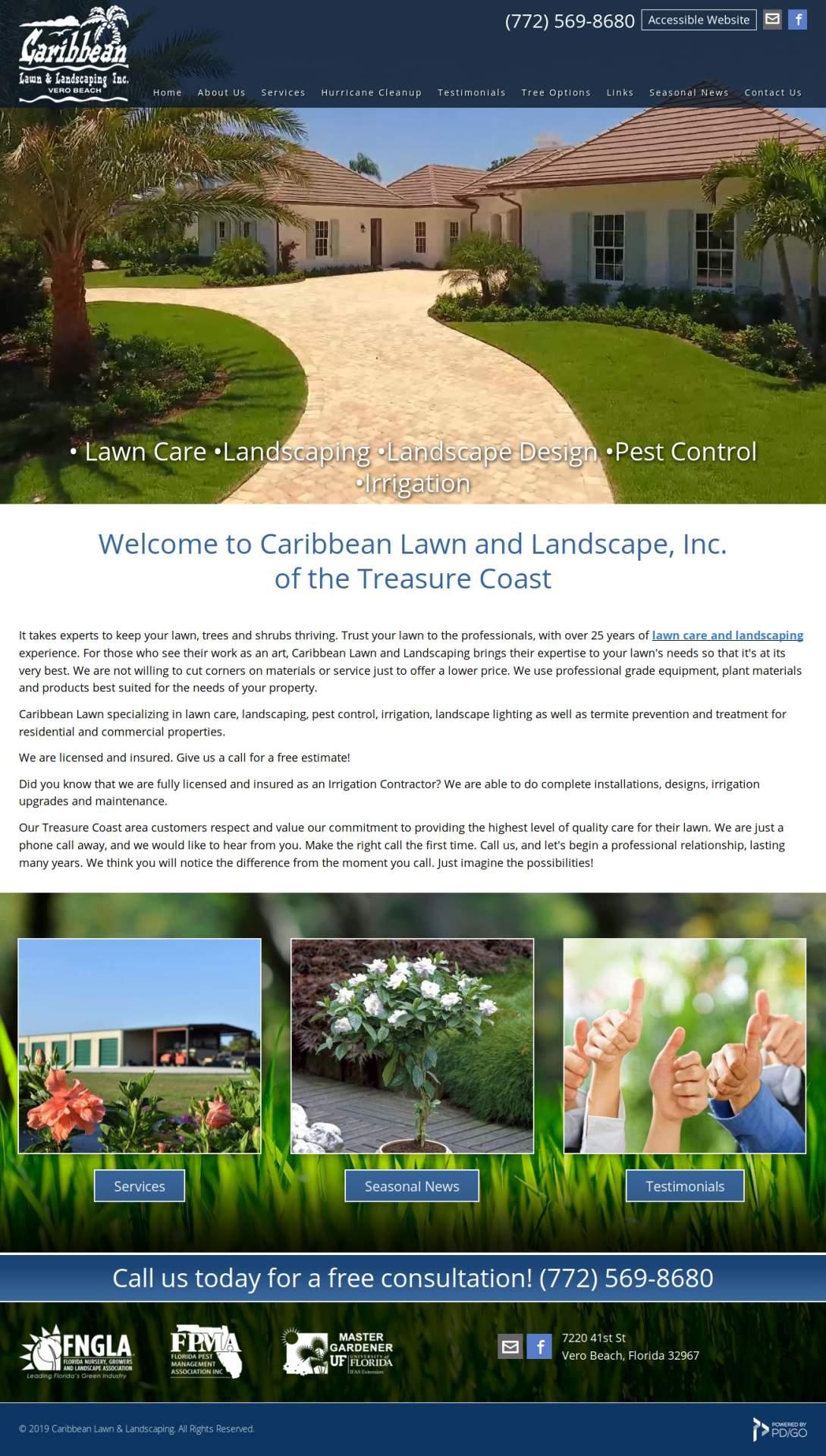caribbean lawn