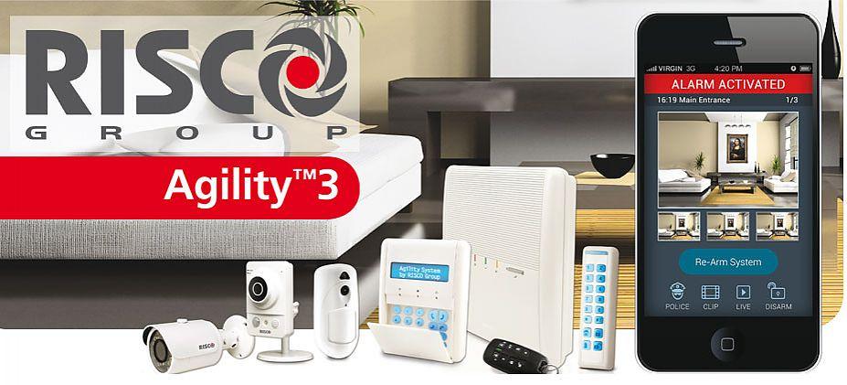 Risco System Agility 3 Alarm Wireless