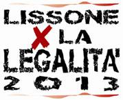 LISSONE PER LA LEGALITA' 2013