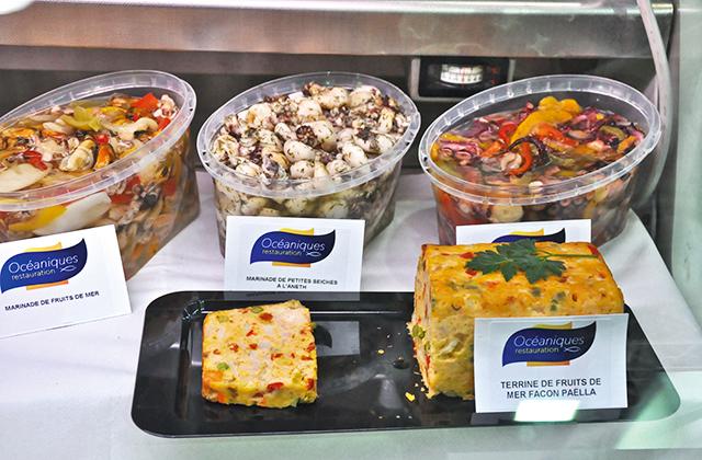 Terrines De Plats Cuisins Produits De La Mer