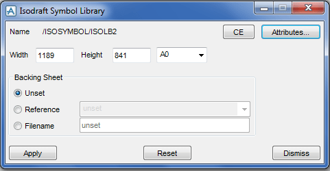 pdms-create-isodraft-symbol-library-menu