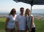 Tiffany, Steve and Unknown at the DVICA Golf Classic 2008