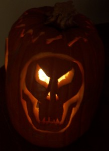Jack-o-Lantern - Skull