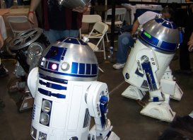 Two and a half R2D2's