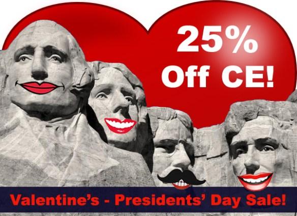 25% off CE Sale!