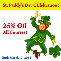 St. Patrick's Day CEU Sale