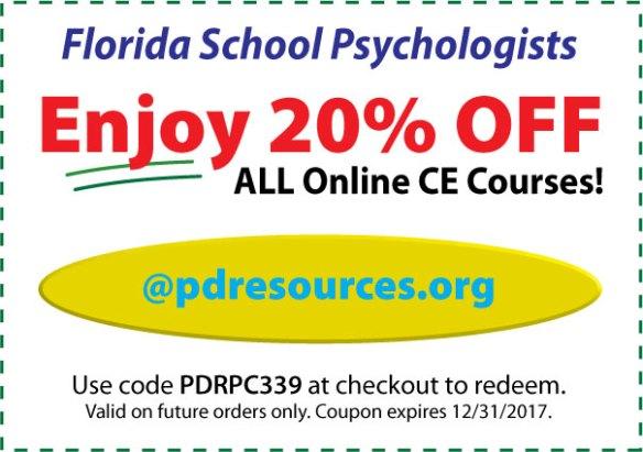 20% Off FL School Psy CE