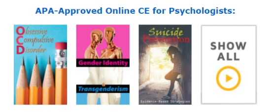 APA-Approved Online CE for Psychologists