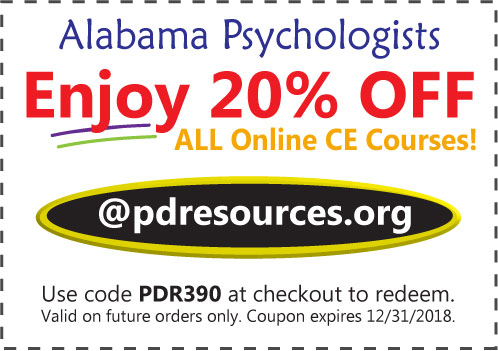 Alabama Psychologists Renewal Info