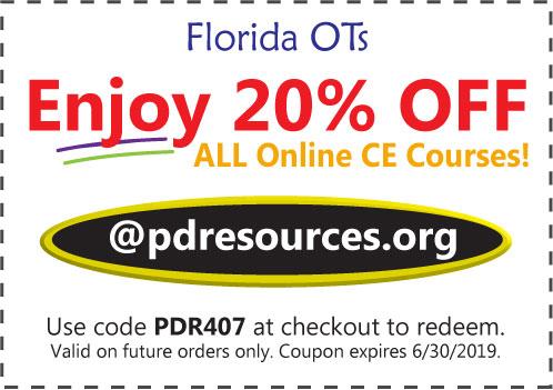 Florida OTs Save 20% on CEUs