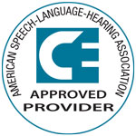 ASHA-Approved Provider Logo