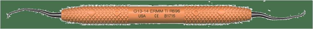 R696 Gracey 13-14 Titanium Extended Reach Micro Mini