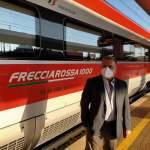 AV Orte – Primo treno Frecciarossa