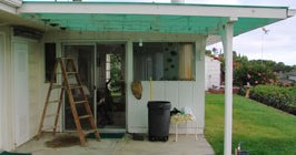 retractable awning vs a fixed patio