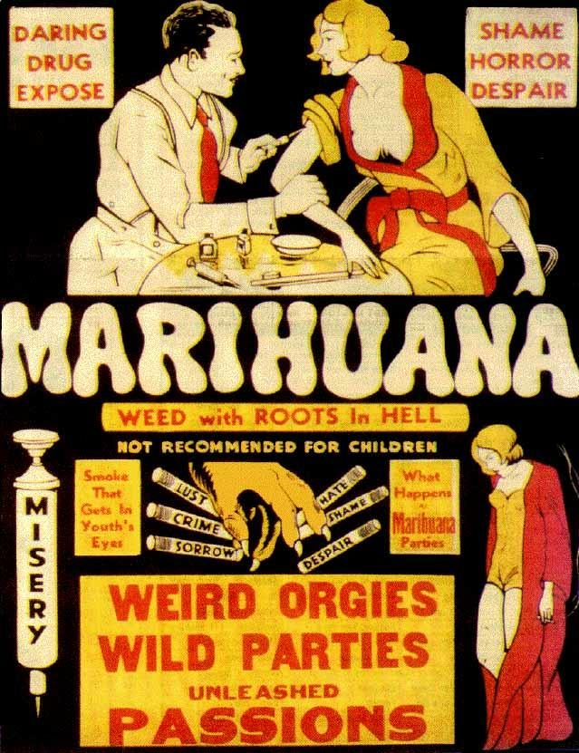 Poster, 'Weed With Roots in Hell'