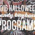 halloween buyback