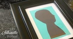 diy silhouette