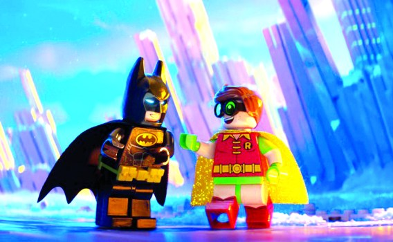 The LEGO Batman Movie,' on DVD Tuesday, gets the Dark Knight to lighten up  – Press Enterprise