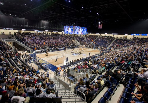 New Cal Baptist University arena in Riverside impresses on