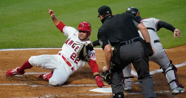 Calhoun, a longtime Angel, drove in five runs on two homers to put the Angels in a seven-run hole by the third inning. Although the Angels rallied to tie the score in the sixth, they still lost, dropping a game in the standings.