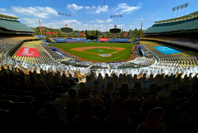 After a best-of-three opening round at home sites, the playoffs would play out with NL teams in Texas and AL teams in Southern California. A neutral-site World Series is scheduled for Globe Life Field in Arlington, Texas.