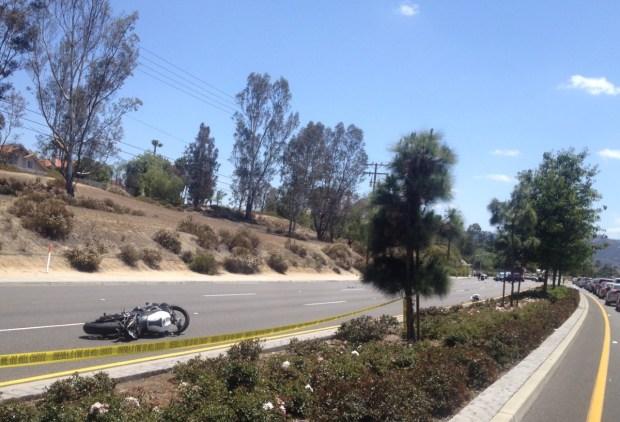 Temecula Motorcyclist Dead Pedestrian