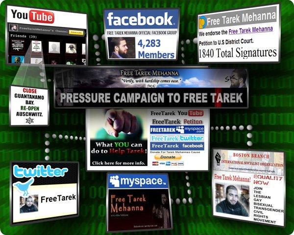 Online Pressure Campaign to Free Tarek Mehanna