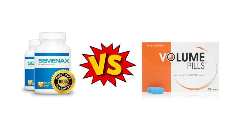 Semenax Vs Volume Pills