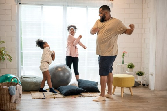Exercise and keep away from stress