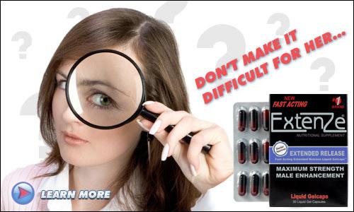 Extenze Male Enhancement Pill