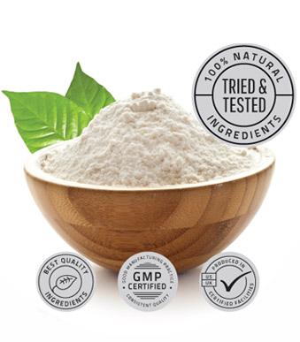 Bowl of Natural Ingredients