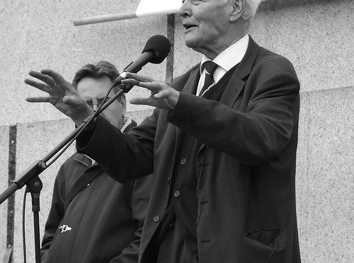 RIP Tony Benn, Lifelong War Critic