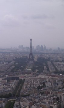 View from the infamous Tour Montparnasse.