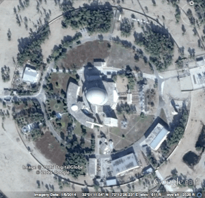 The plutonium reactor at Khushab, Pakistan.