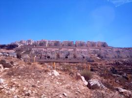 The settlement of Beitar Illit, a Haredi settlement in Gush Etzion. PC: Eddie Grove