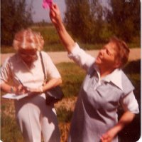 1968-Hanna-Kroeger-Perfoming-a-Blessing-at-Peaceful-Meadow-Retreat
