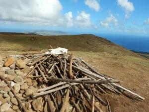 Top of Maunga Terevaka