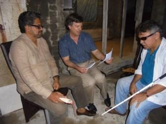 Author with Marquez Santrich