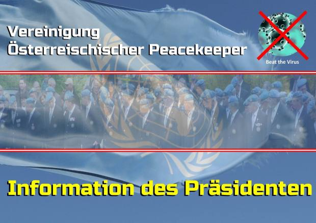 GrößenänderungInformation des Präsidenten