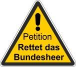 Petition Rettet das Bundesheer