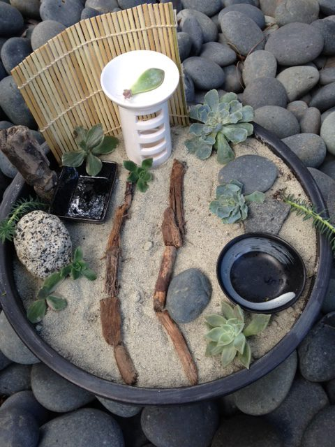 Perfect We Put Together This Zen Garden (one Of Kid Au0027s Favorite Forms Of  Meditation), With A Container And Sand We Already Had, A Few Dollar Store  Items, ...