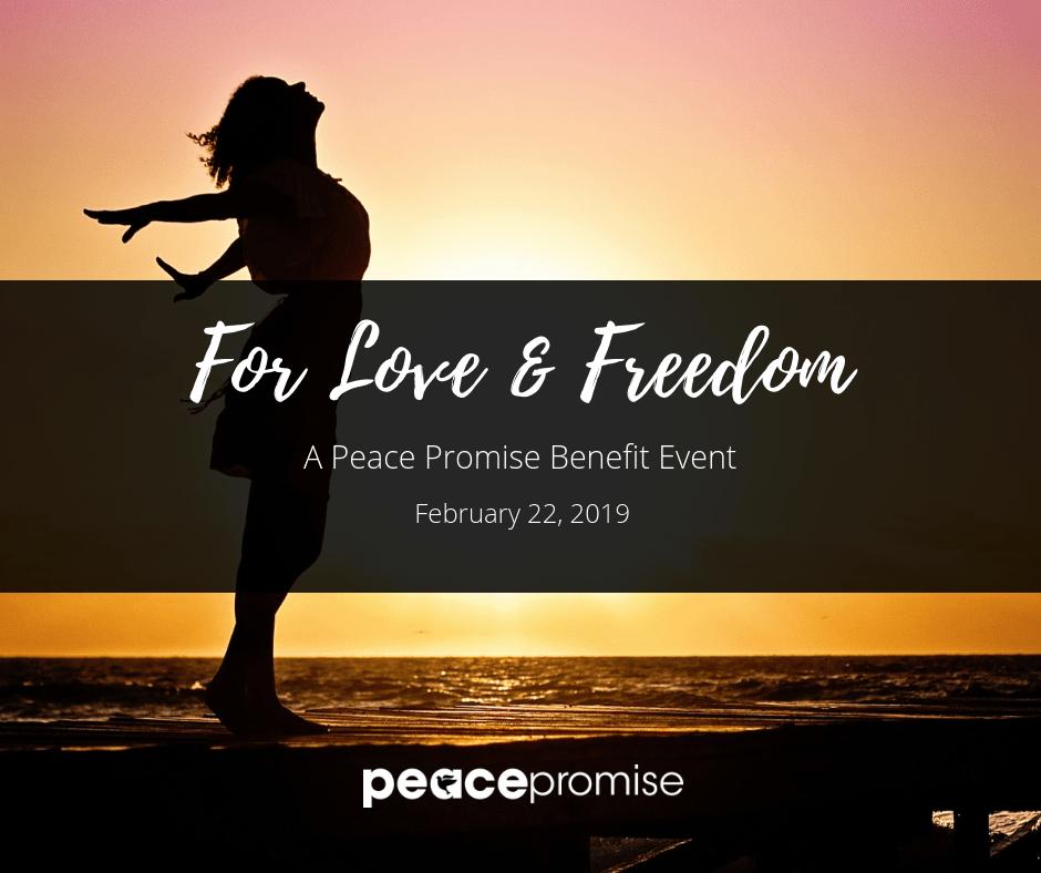 A Peace Promise Benefit Event