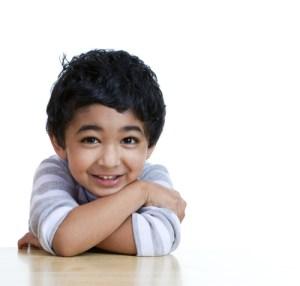 Ahmad smiling