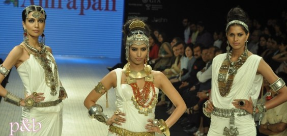 Amrapali at IIJW 2012 - 2