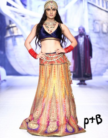 India-Bridal-Fashion-Week-2013-JJ-Valaya-Bridal-Lehenga (6)