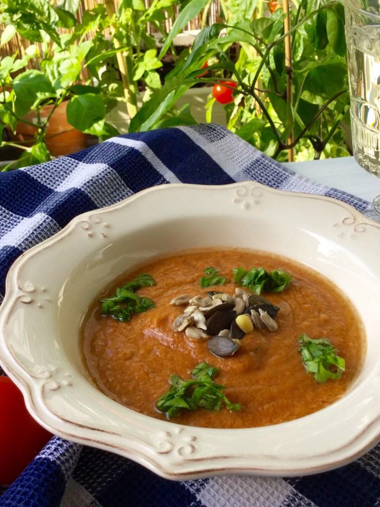 Gazpacho — kalte Tomatensuppe