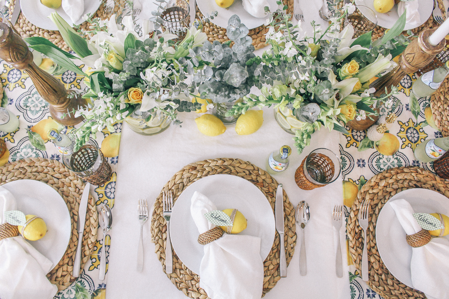 Lemon Party Decor U0026 Table Setting