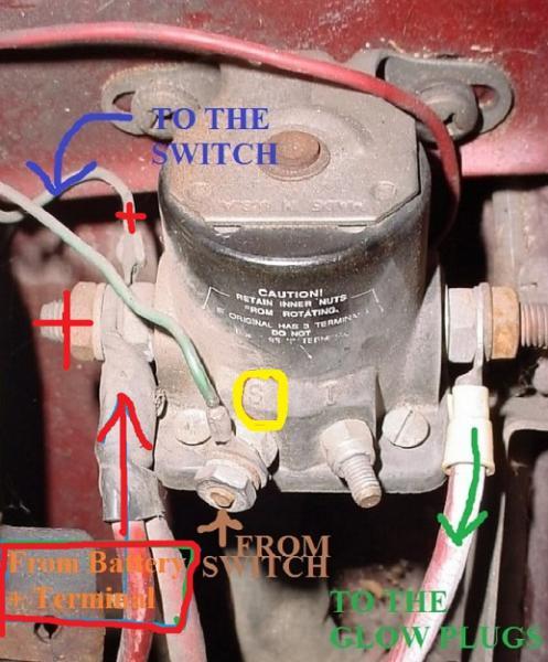124258d1410062326 glow plugs going manual glow plug relay volvo otc sep 14?resize\=497%2C600 6 2 glow plug controller diagram wiring diagrams Kubota Glow Plug Controller at virtualis.co